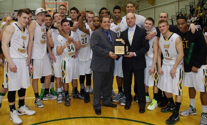 2013 PAC Men's Basketball champions Saint Vincent College